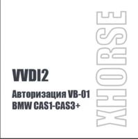 Авторизация VB-01 для BMW CAS1-CAS3+